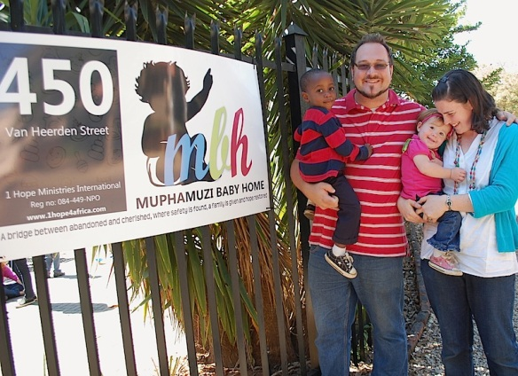 Donavan and Heather Drew are House Managers for the home and have taken little Temba into their family.