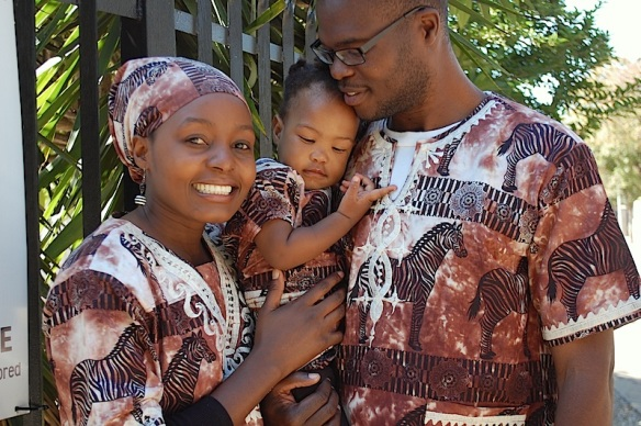 Newton and Vanessa who will be planting a church in their home country of Malawi adopted the first baby to come to the home, Aya!