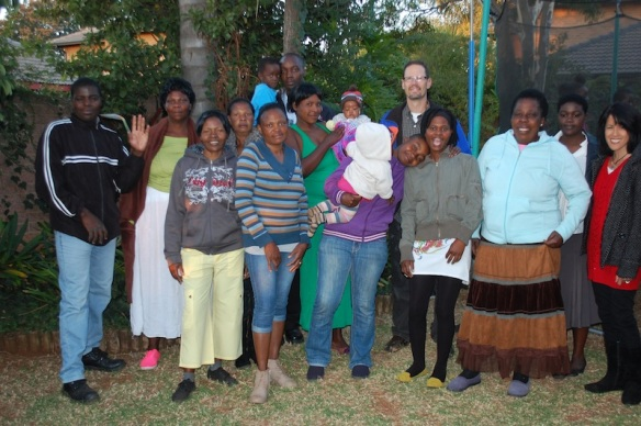 Salvakop Community Bible Study- All our friends pictured here are from the country of Zimbabwe.