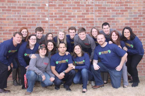 Mission Team from Arkansas came to serve with 1Hope this month