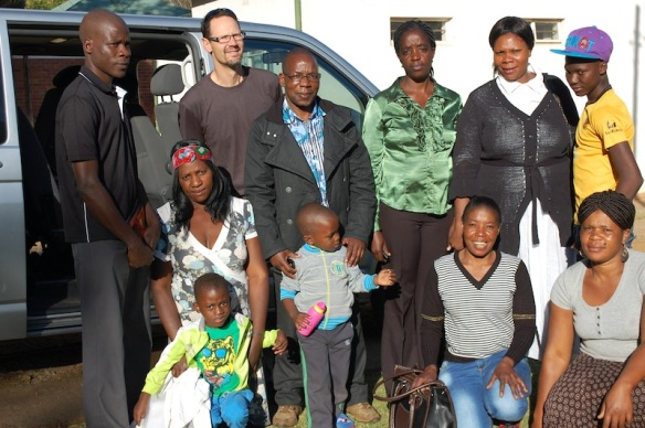 Randy's Gospel Community from Salvakop (a refugee community in the inner-city)