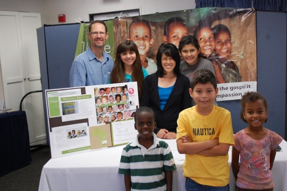 Sharing 1Hope at an Orange County Orphan Care Summit.