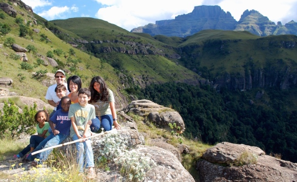 Hiking in the breathtaking Drakensberg Mountains gives us a glimpse of our Creator's majesty and glory!