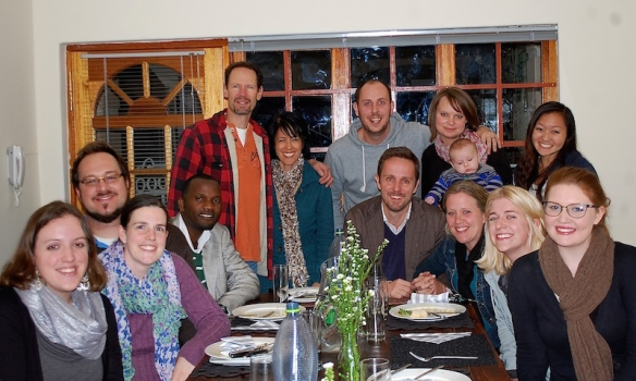 Winter in Pretoria! Our latest 1Hope4Africa Team Meeting