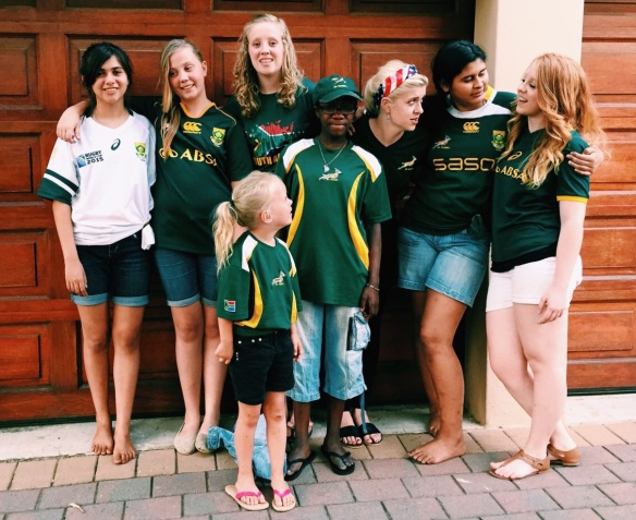 Rugby World Cup 2015 Springbok supporters